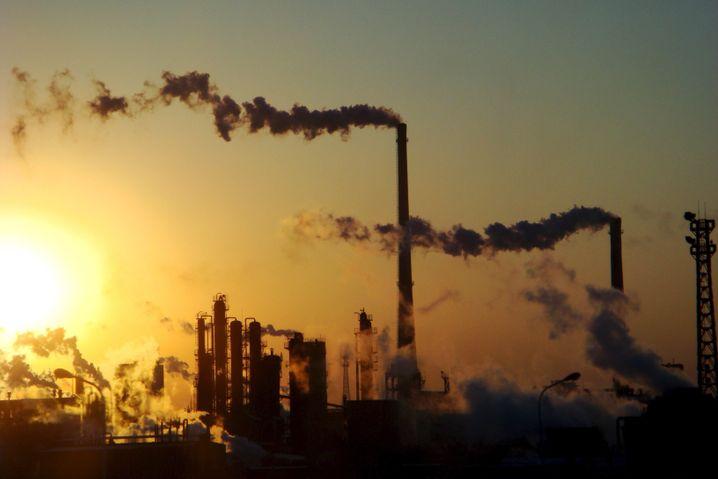 Chemiefabrik in Tianjin, China: Kohlendioxid-Emission weltweit auf Rekordhoch