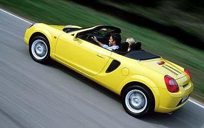 MR 2: Spaßauto für 25 000 Euro: Mit dem Roadster bewies Toyota endlich einmal Mut