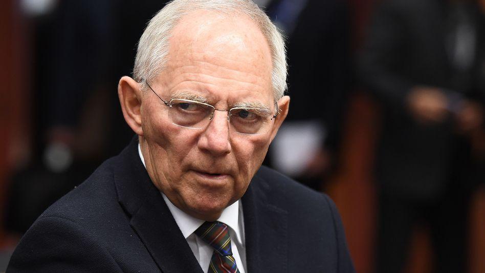 Bundesfinanzminister Schäuble: Harter Widerstand gegen Restrukturierung der Schulden