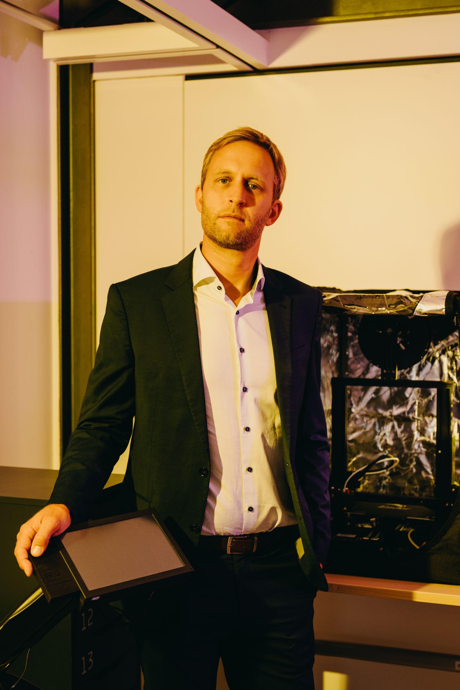 Prof. Dr. Bjoern Eskofier an der FAU Erlangen