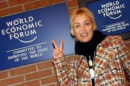 Schauspielerin Sharon Stone: Wirbt für den Kampf gegen Aids