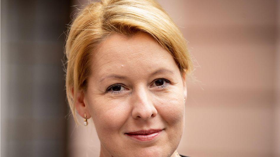Franziska Giffey (SPD): Die Bundesministerin für Familie, Senioren, Frauen und Jugend will sich nicht für den SPD-Vorsitz bewerben