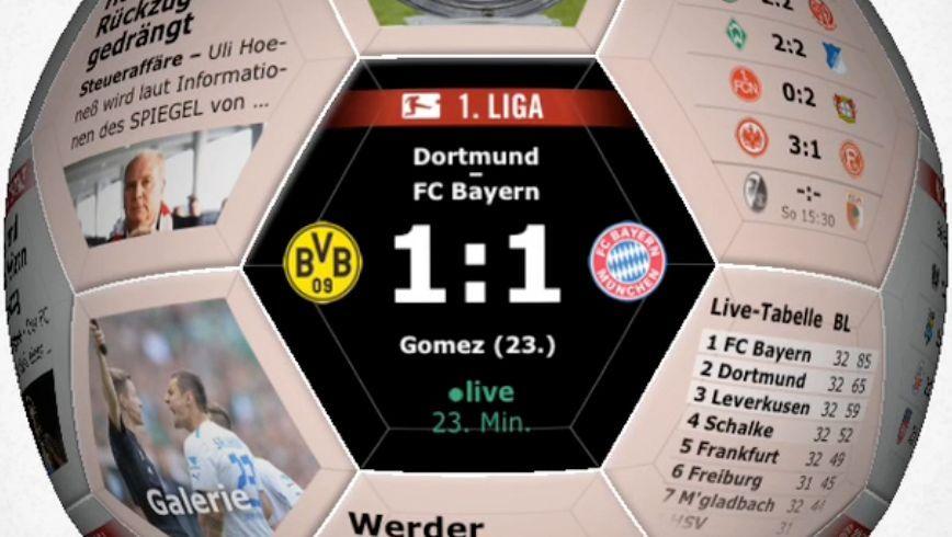 """Hunderttausende Miniprogramme gibt's bei Apple: Auch die Fußball-App von """"Spiegel Online"""""""