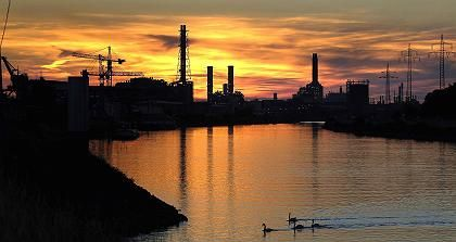 BASF-Werk in Ludwigshafen: sinkende Betriebsgewinne