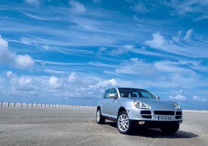 Sonnenschein: Porsche Cayenne S