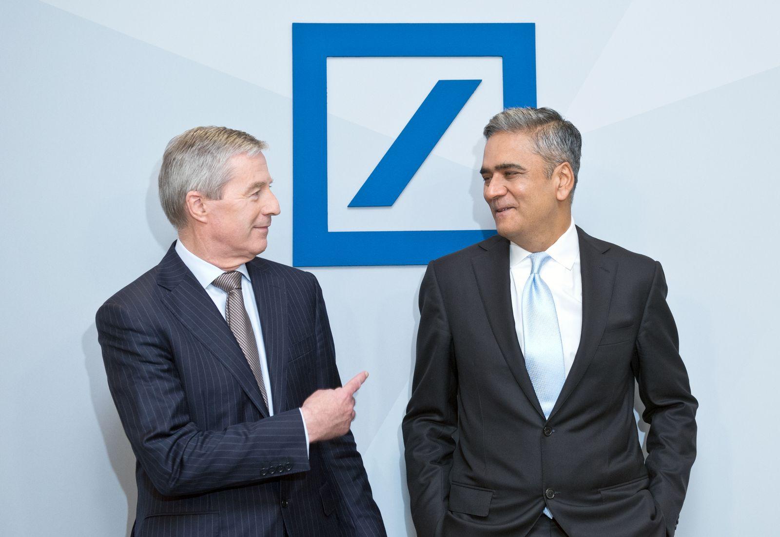 Deutsche Bank / Dax / Anshu Jain / Jürgen Fitschen