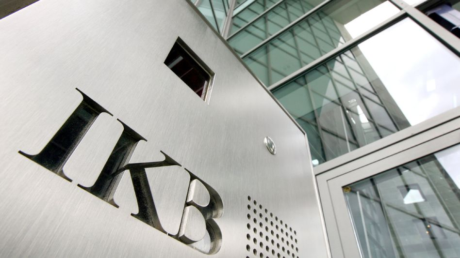 IKB-Zentrale in Düsseldorf: Bank auf dem Weg zur Gesundung