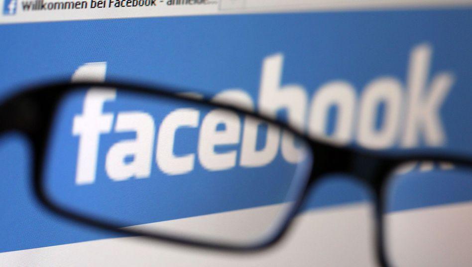 Facebook-Logo: Dem Onlinenetzwerk wird ein Unternehmenswert von 100 Milliarden Dollar zugetraut
