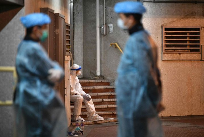Pause für medizinisches Personal in Hongkong