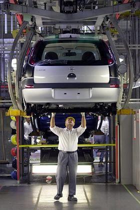 Verkaufszahlen wenden sich zum Guten: Corsa-Montage im Opel-Werk Eisenach