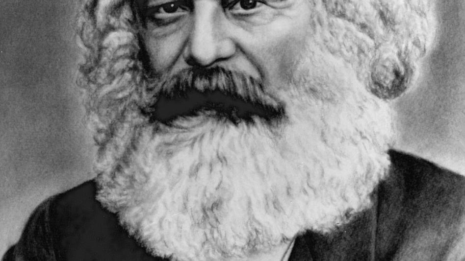 Der deutsche Philosoph und Politiker Karl Marx