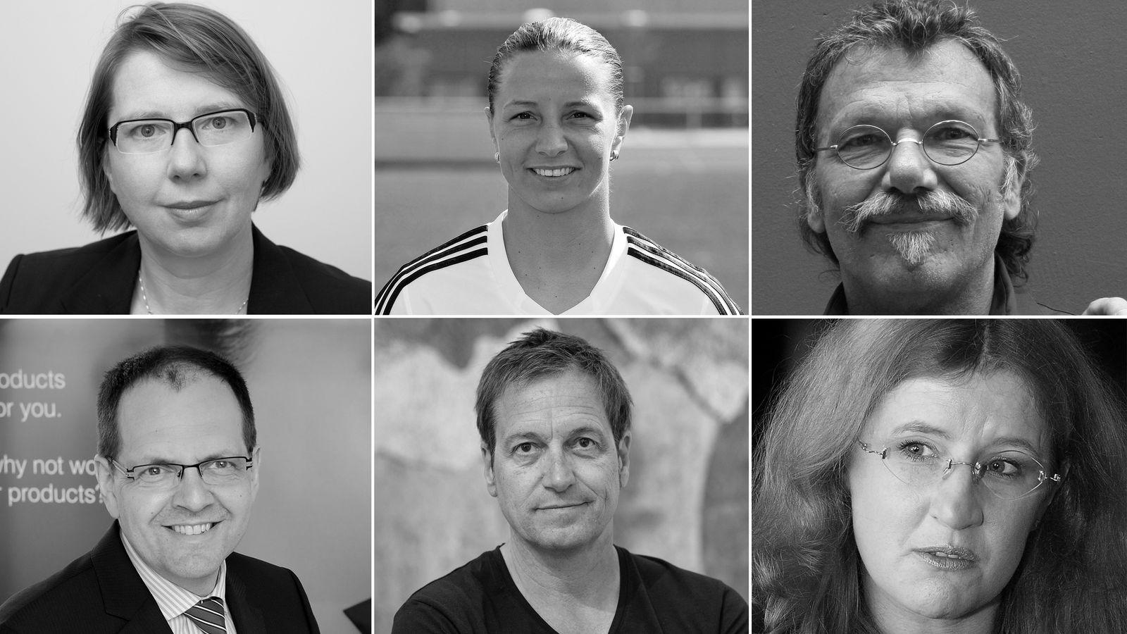 KOMBO Elsbeth Stern, Inka Grings, Bernhard Rohloff, Markus Bonsels, Dieter Nuhr, Anne Koark