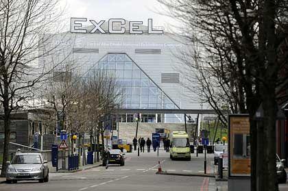 Treffpunkt der G20: Excel-Konferenzzentrum in London
