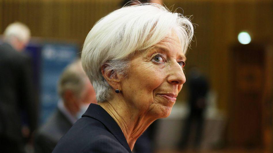 Zeitenwende: Die neue EZB-Präsidentin Christine Lagarde hatte bereits eine neue Strategie der Notenbank in Aussicht gestellt und will diese jetzt umsetzen