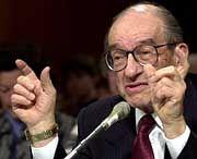 Fed-Chef Alan Greenspan