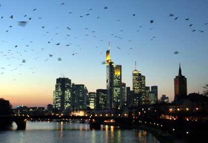 Bankenviertel: Fusionsphantasien dürften 2005 keine große Rolle mehr spielen