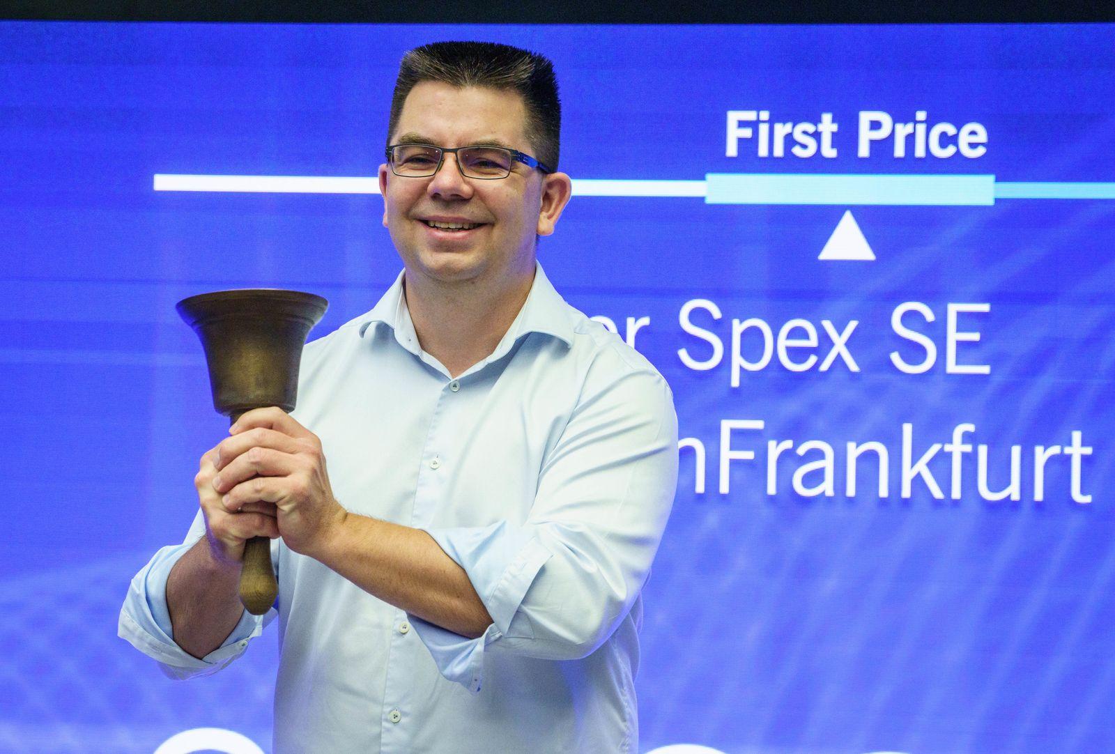 Börsenstart des Berliner Online-Optikers Mister Spex