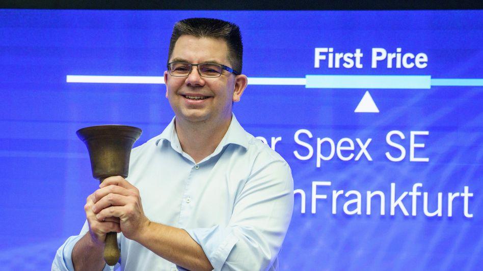 Durchwachsenes Debüt: Der Gründer von Mister Spex, Dirk Graber, hat den Sprung an die Börse gewagt