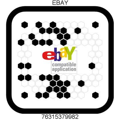 Beetaggs bei Ebay: Die Wabencodes können auch bei Onlineversteigerungen genutzt werden