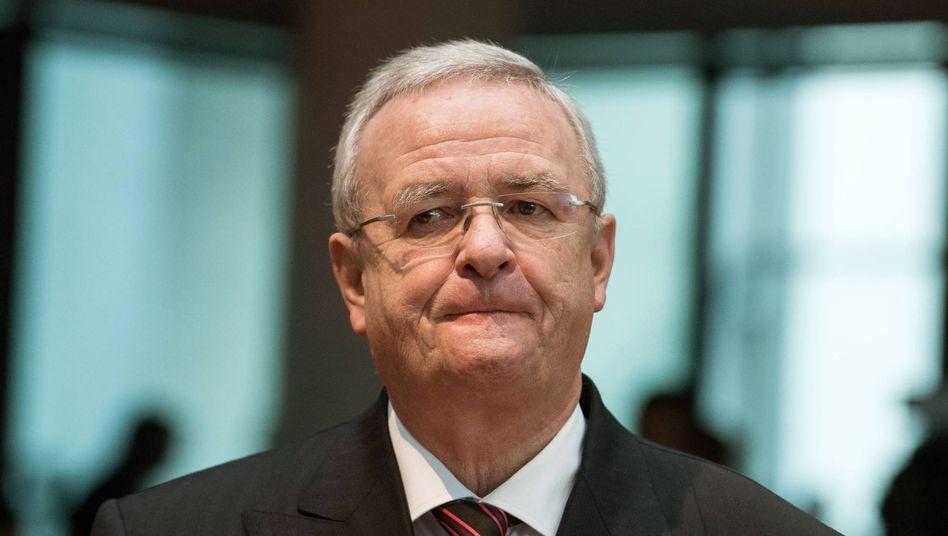 Im Visier der Staatsanwälte: Ex-VW-Chef Winterkorn