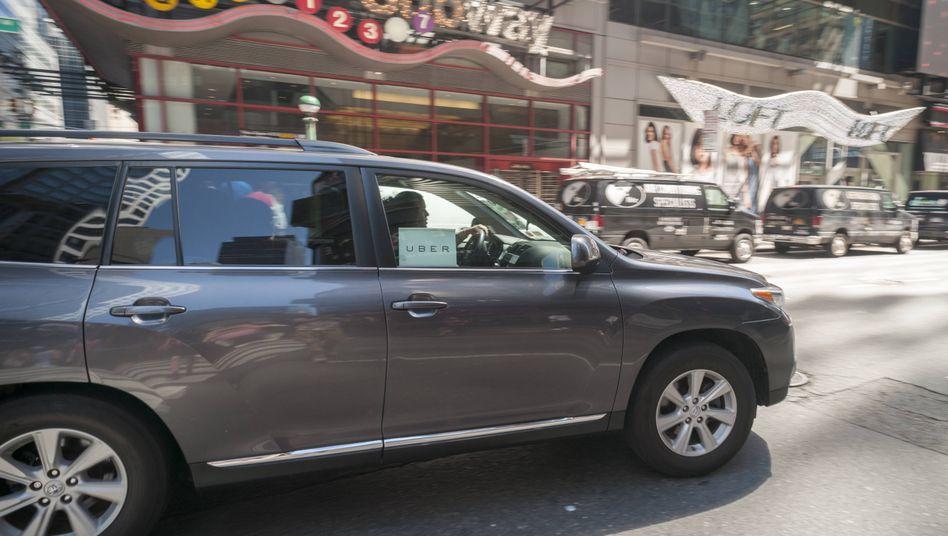 Uber in New-York: In der Stadt herrscht eine massive Verdrängungsschlacht unter den Fahrdiensten