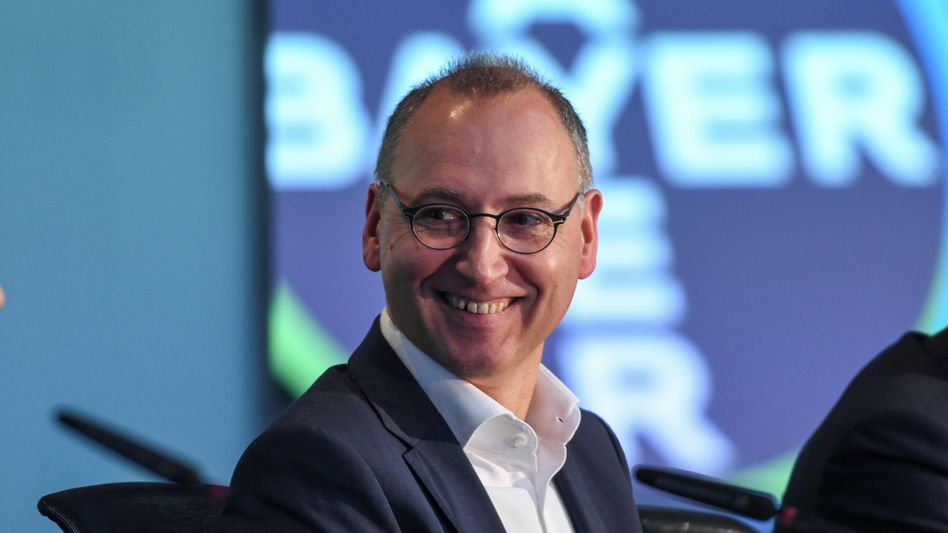 Hofft auf einen neuen Umsatzbringer: Bayer-Chef Werner Baumann