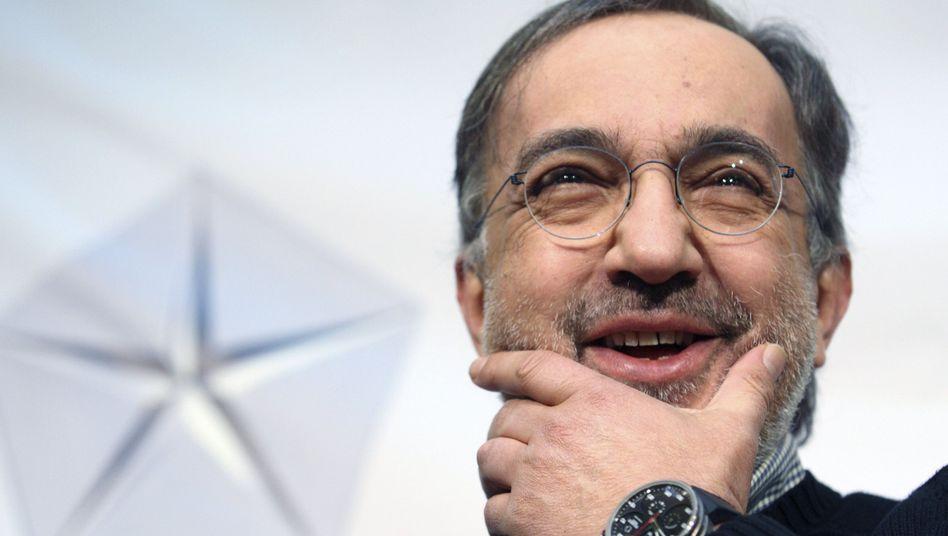 """Fiat Chrysler-Chef Sergio Marchionne wirbt wieder mal für Riesen-Merger: """"Wir haben als Branche kollektiv dabei versagt, Unternehmenswerte zu liefern, die im richtigen Verhältnis stehen zur Höhe des eingesetzten Kapitals"""""""