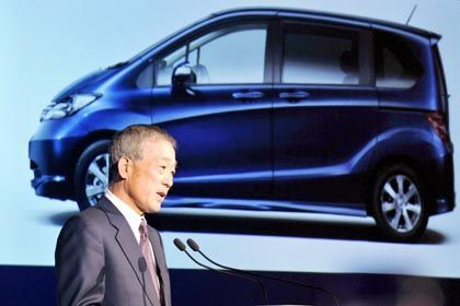 Räumt seine Posten: Honda-Chef Fukui