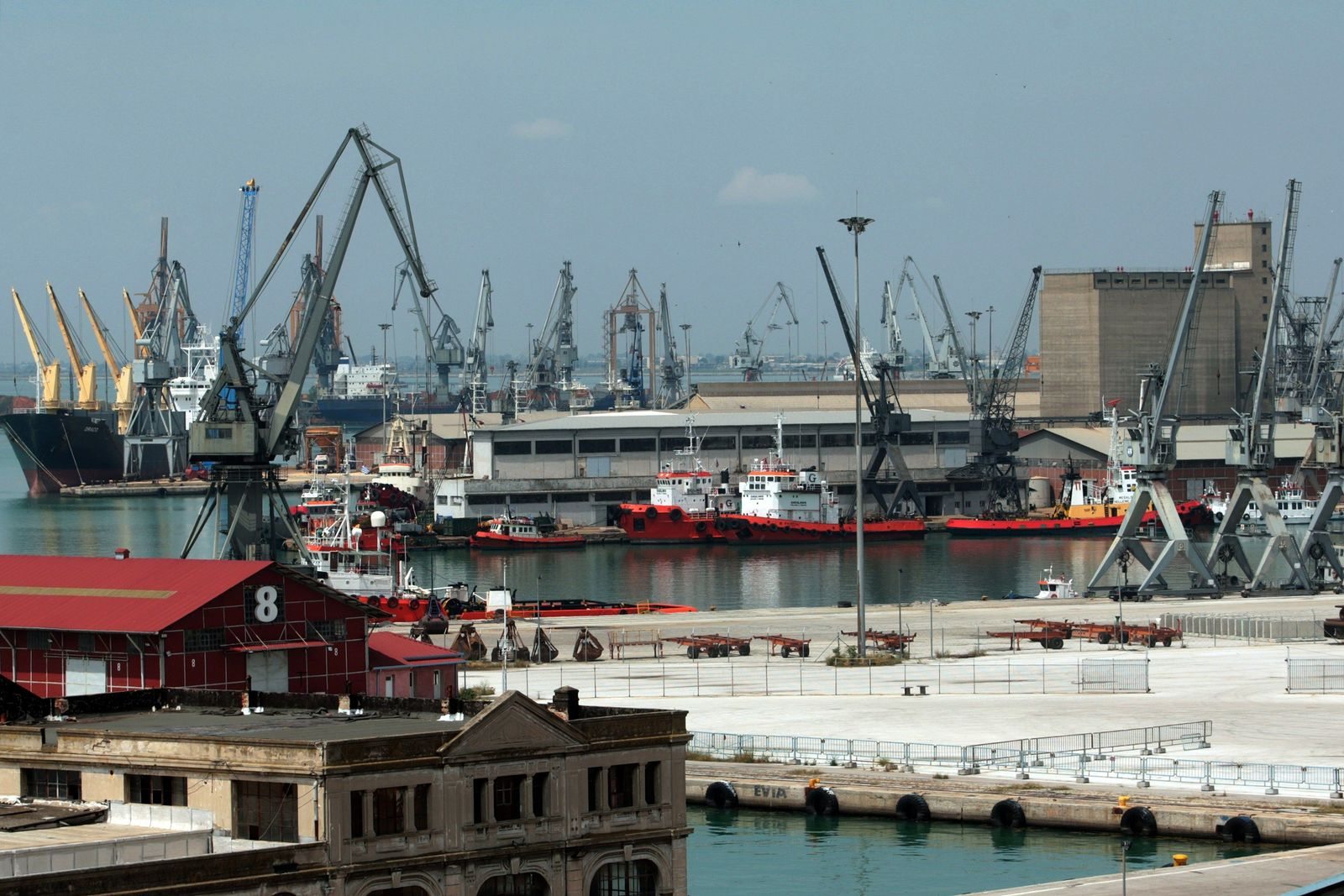 Griechenland / Hafen von Thessaloniki