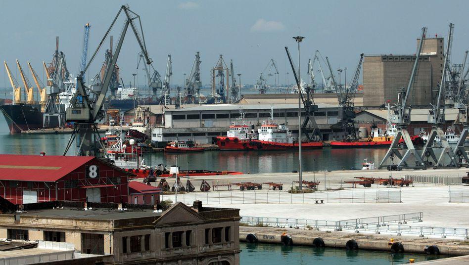 Hafen in Thessaloniki: Kein Aufschwung absehbar