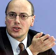 Verkehrsminister Kurt Bodewig