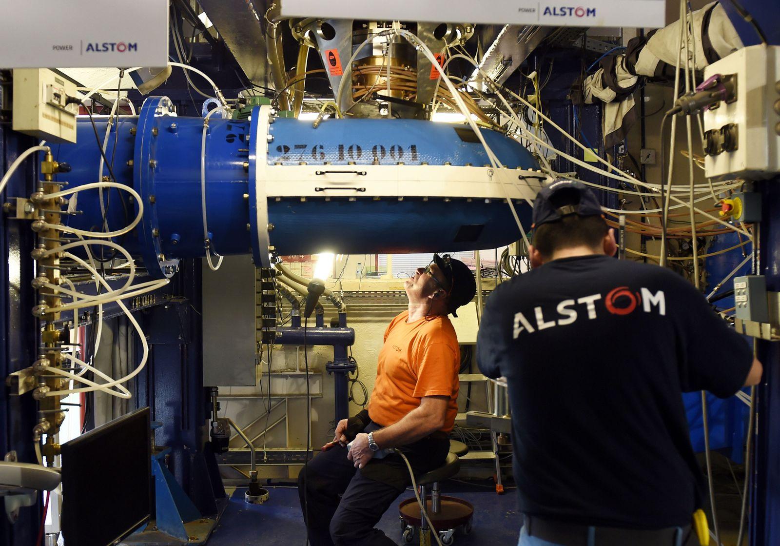 Frankreich / Alstom Produktion