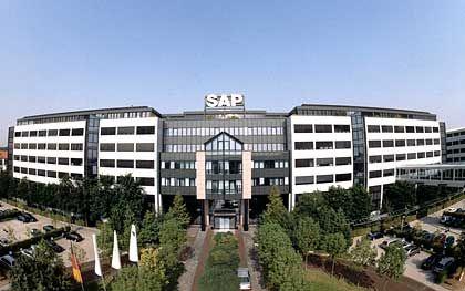 Zentrum der Macht: Konzernzentrale in Walldorf