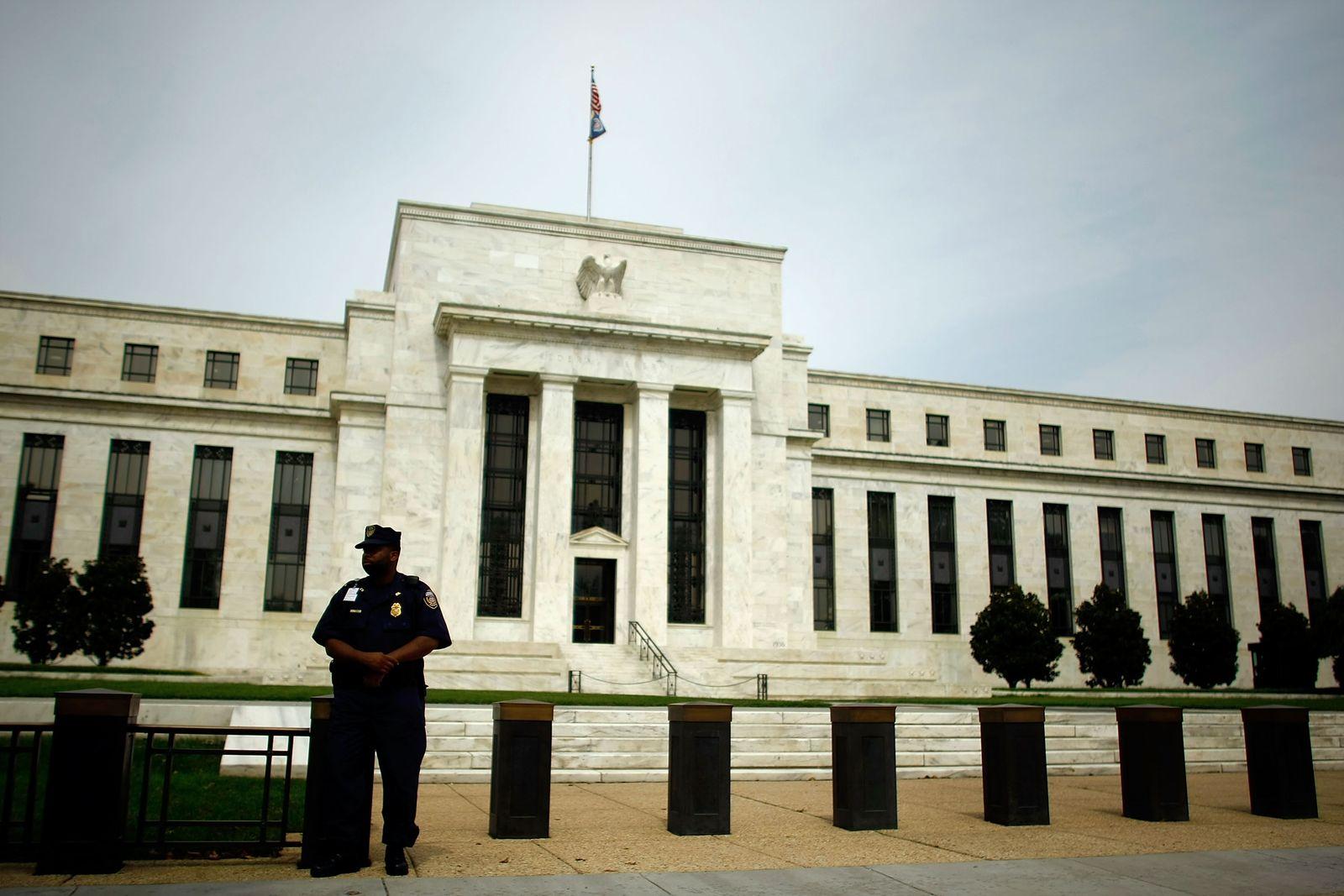 Fed / Eccles Building, Hauptsitz des Federal Reserve in Washington, D.C.