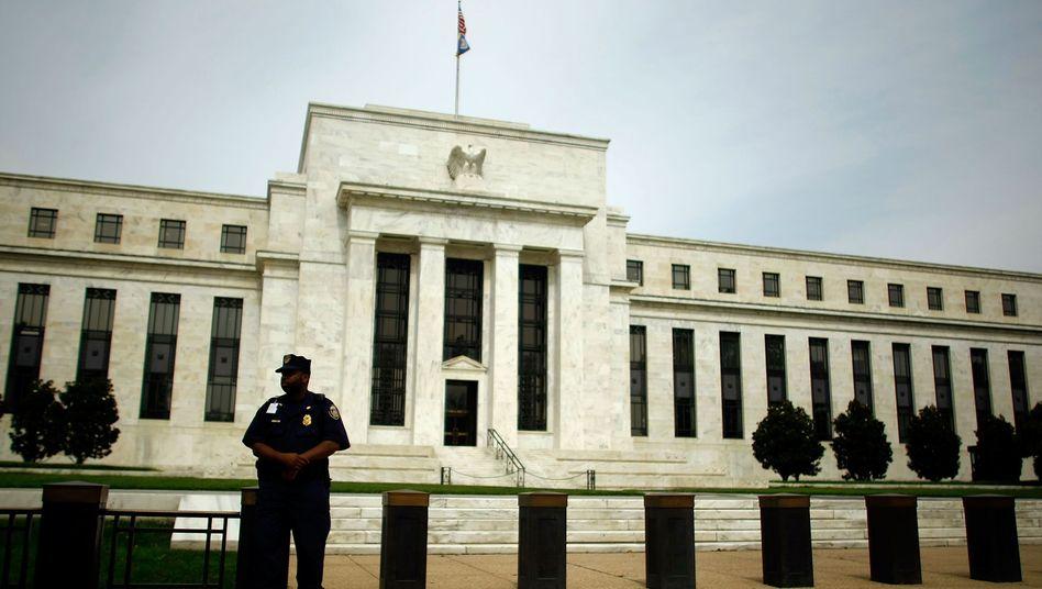 """Fed-Zentrale in Washington: """"Wir müssen handeln, als stünde unser Haar in Flammen"""""""