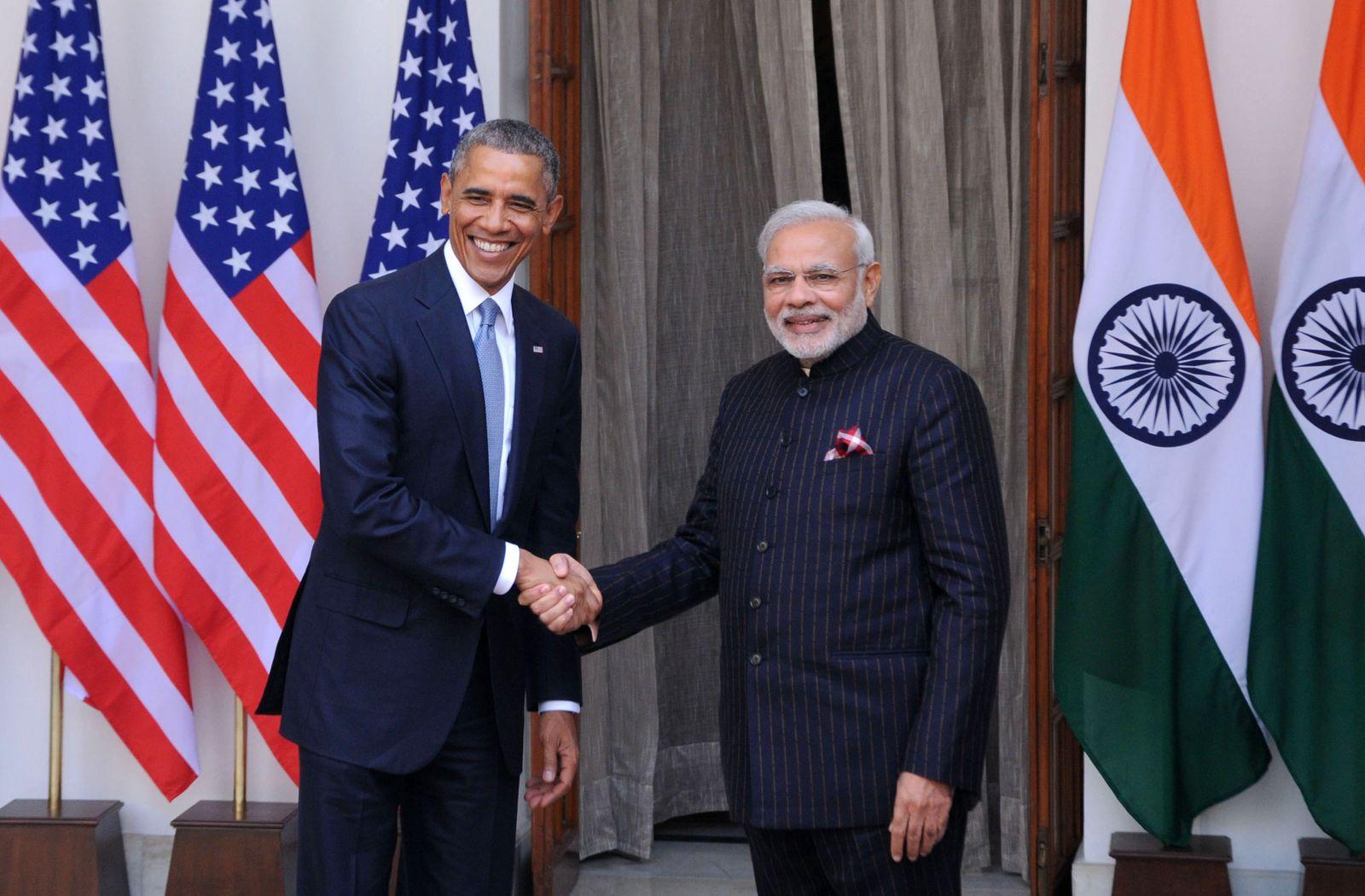 Narendra Modi; Obama;