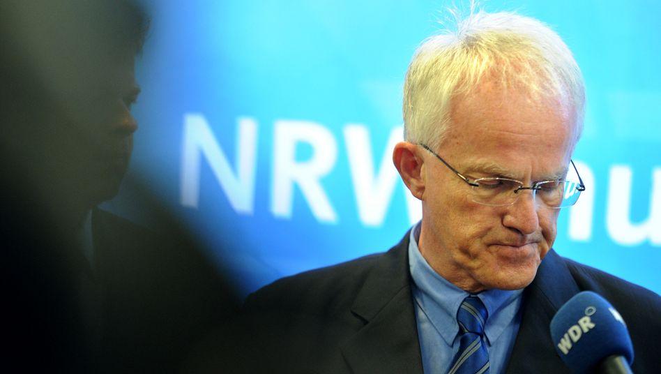 Scheidender NRW-Ministerpräsident: Jürgen Rüttgers zieht sich zurück
