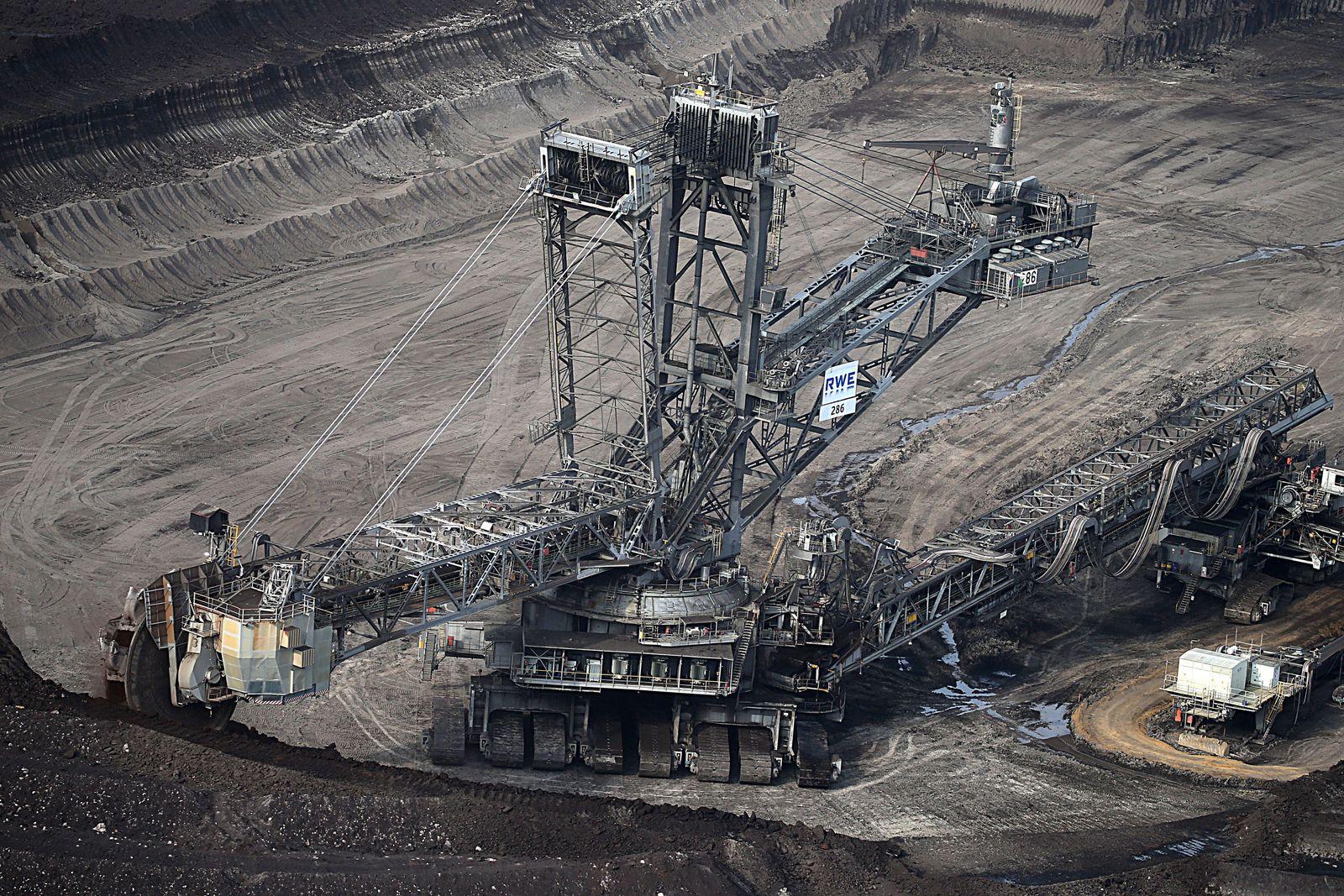 Protest-Aktion für schnellen Kohle-Ausstieg