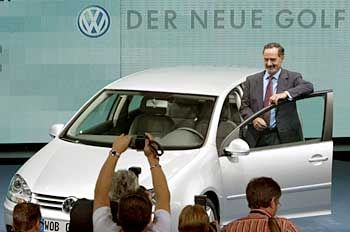 Der Golf V wird auch auf der IAA in Frankfurt die Blicke auf sich ziehen