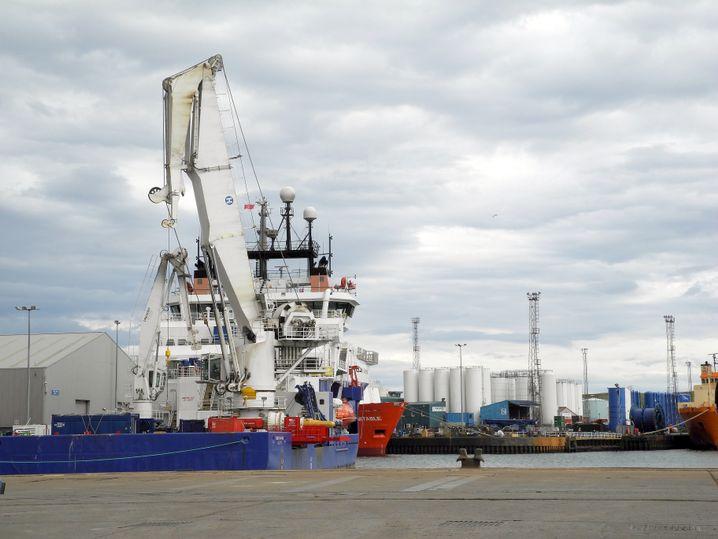 Industriehafen von Aberdeen: Ölbranche erwirtschaftet 13 Prozent des BIP