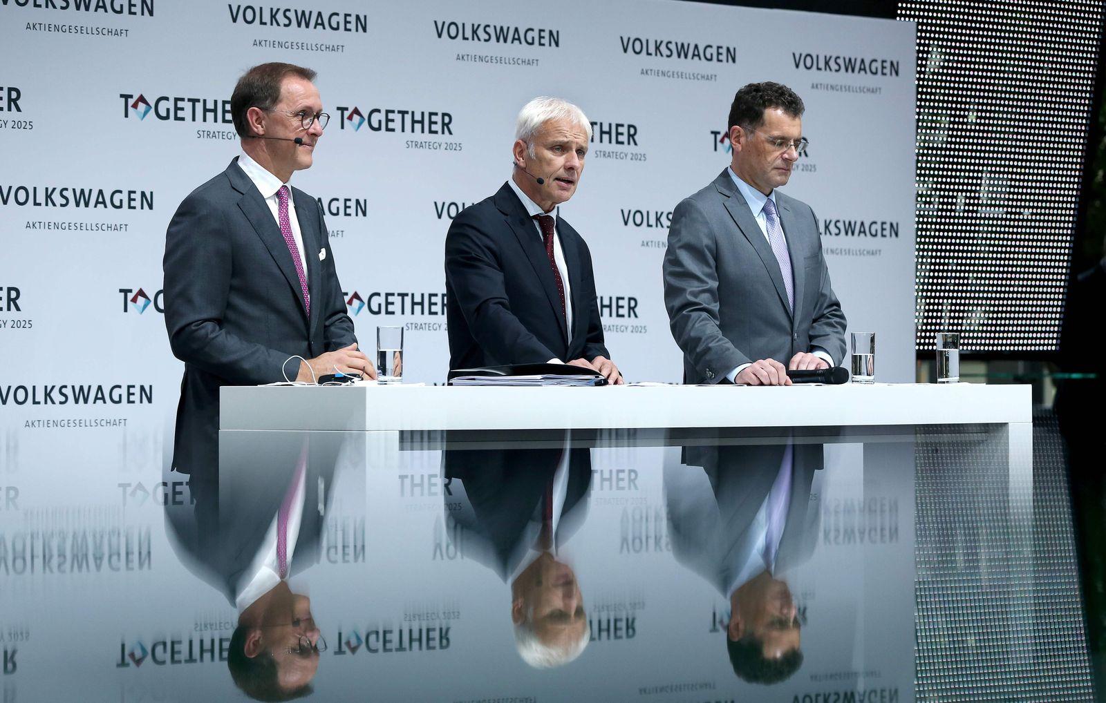 Volkswagen Trio Sedran / Müller / Bode