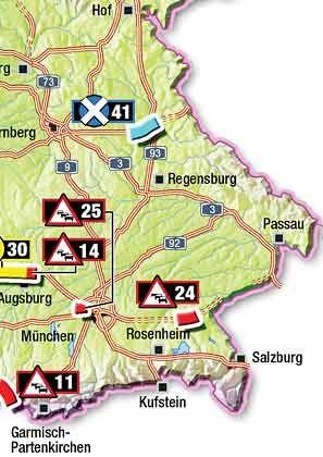 Out of Rosenheim (24): Das Neubauprojekt an der A94 zwischen Ampfing-Ost und Erharting sollte stauauflösend wirken - nun könnte es dem Rotstift zum Opfer fallen