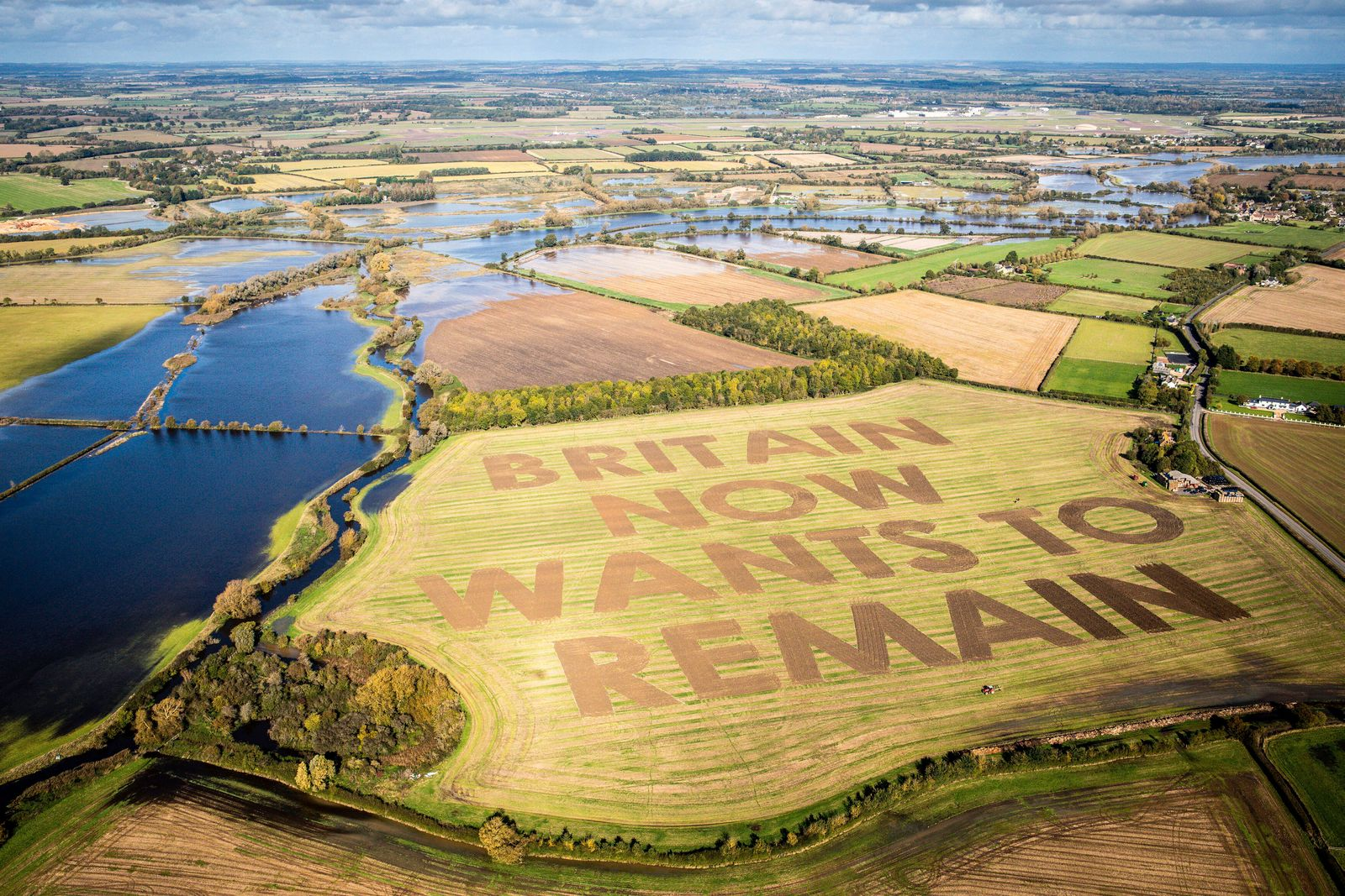 EINMALIGE VERWENDUNG Farmer / Brexit