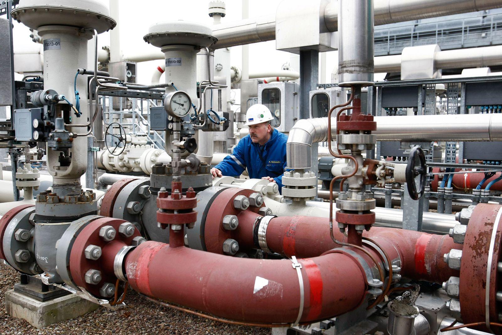 Russland / Deutschland / Gas-Pipeline / Energie