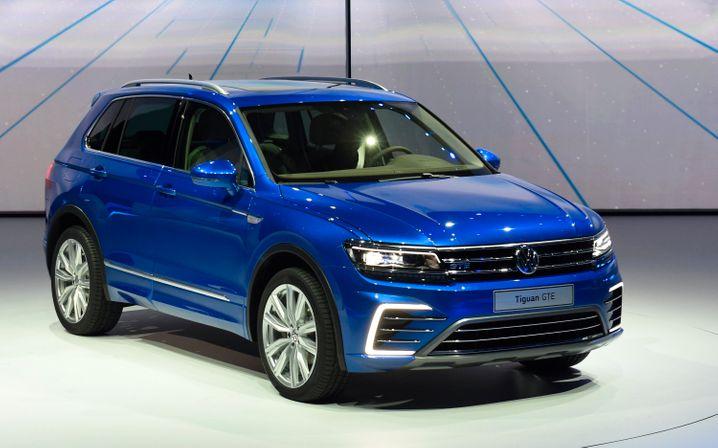 VW Tiguan: Die zweite Generation des Geländegängers startet im Frühjahr 2016 in den Handel
