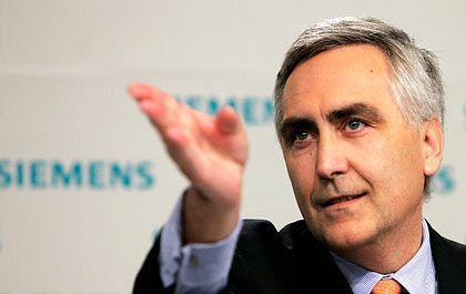 """""""Vernünftiger Stil"""": Siemens-Chef Löscher kommt bei Arbeitnehmervertretern an"""