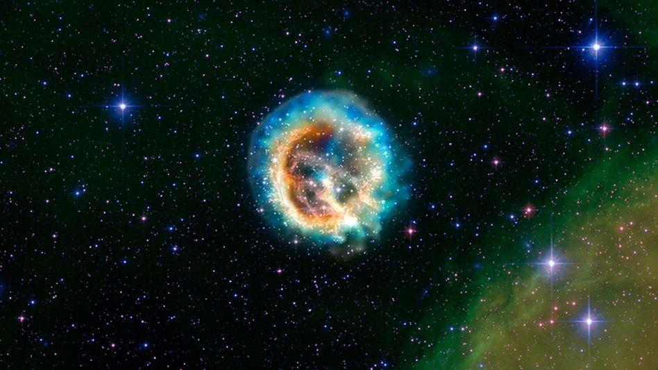 Überreste einer Supernova: Solche Phänomene brachten den Beweis - unser Universum wächst