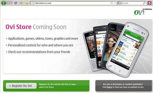 """iPhone-Epigone: Nokia präsentierte auf dem Mobile World Congress in Barcelona den """"Ovi Store"""""""