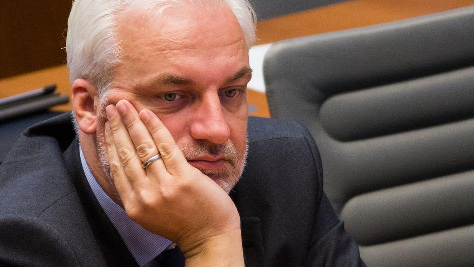 Ex-Wirtschaftsminister Garrelt Duin (SPD): Künftig zuständig für Kernanlagenbau bei ThyssenKrupp