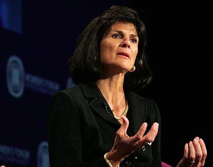 Scharfer Gegenwind: Patricia Russo, CEO von Alcatel-Lucent